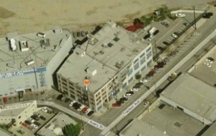 Survey site aerial view