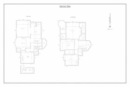 Example as-built survey