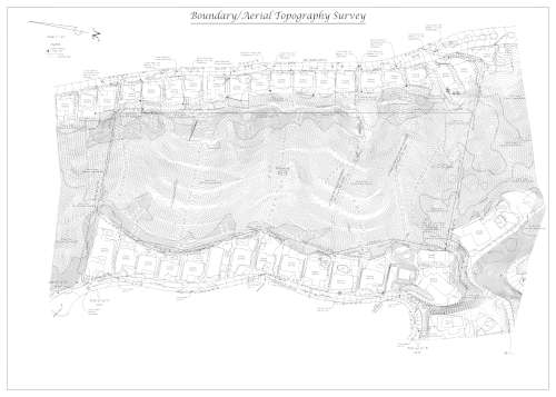 boundary survey map