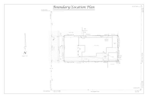 Sample boundary plan preview