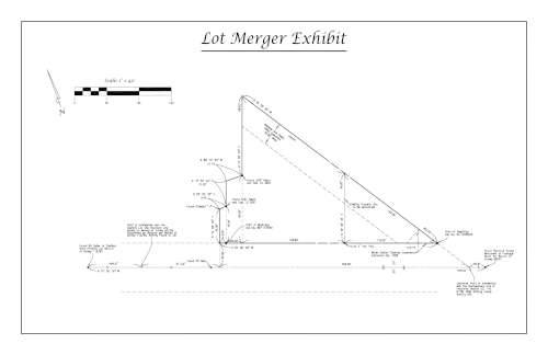Example lot merger preview